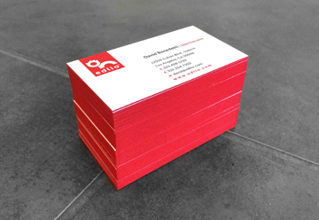 Los angeles business card printing la same day full color business edge painted business cards reheart Image collections